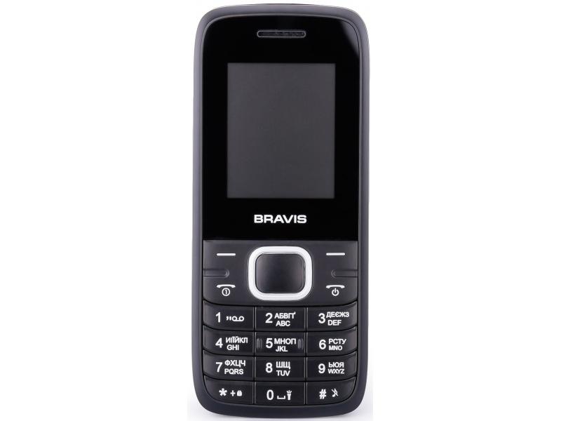 Мобильный телефон Bravis Base Black