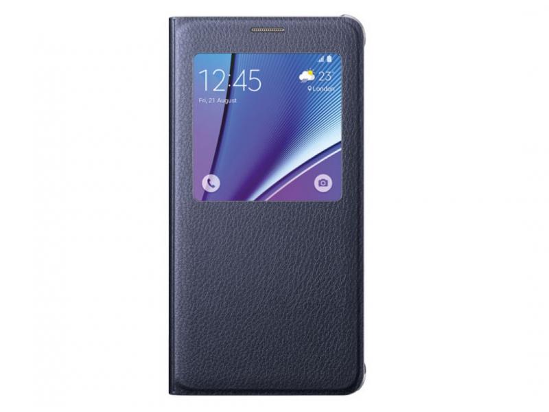 Чехол для мобильного телефона Samsung S View Cover EF-CN920PBEGRU For Galaxy Note 5 (N920) Black
