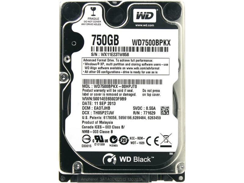 HDD диск Western Digital (WD7500BPKX)