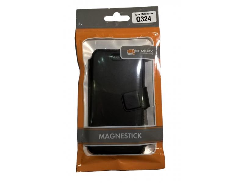 Чехол для мобильного телефона Micromax Q324 Black