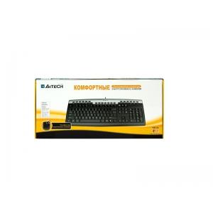 Клавиатура A4tech KR-86 Black