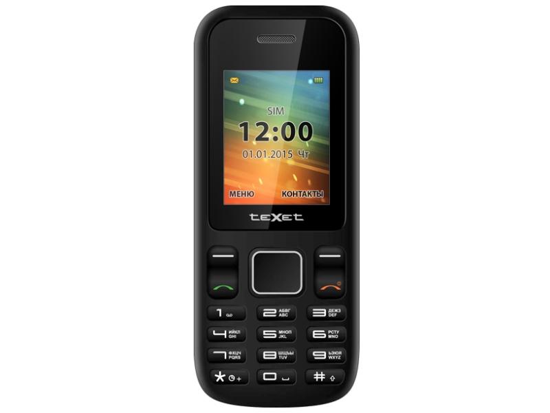 Мобильный телефон Texet TM-99 Black