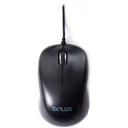 Мышь Delux DLM-131OUB Black