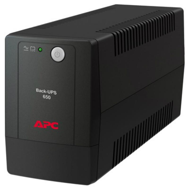Источник бесперебойного питания Apc UPS BX650LI-GR Back RS