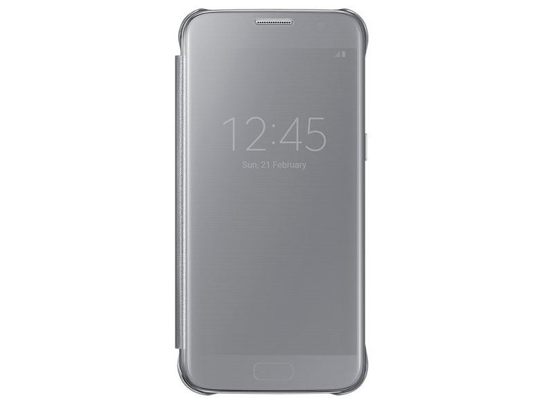 Чехол для мобильного телефона Samsung Clear View Cover EF-ZG935CSEGRU (Galaxy S7 Edge) Silver