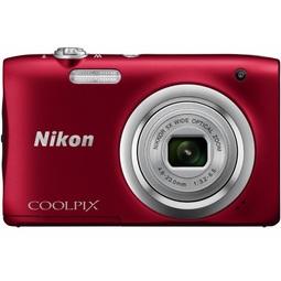 Цифровой фотоаппарат Nikon Coolpix A100 Red