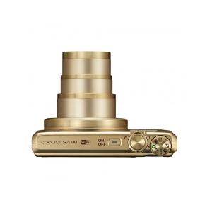 Цифровой фотоаппарат Nikon Coolpix S7000 Gold