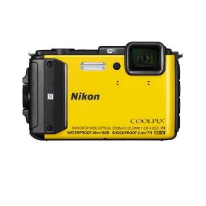 Цифровой фотоаппарат Nikon Coolpix AW130 Yellow