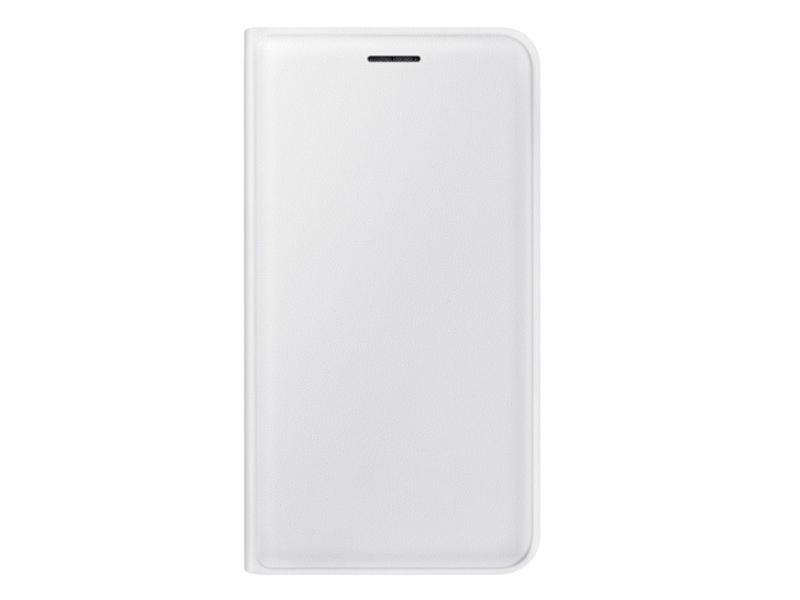 Чехол для мобильного телефона Samsung Flip Wallet  EF-WJ120PWEGRU For Galaxy J1 2016 (J120) White