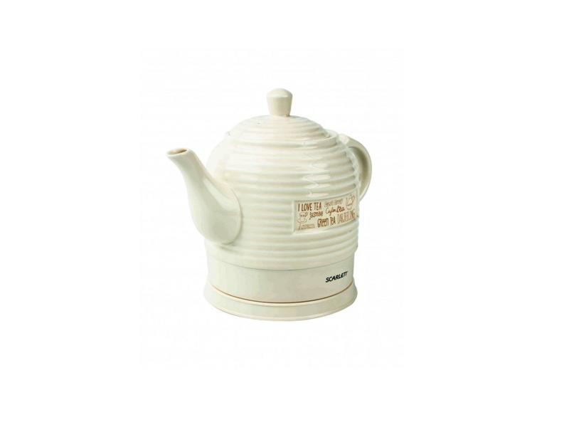 Чайник Scarlett SC-EK24C01 Бежевый