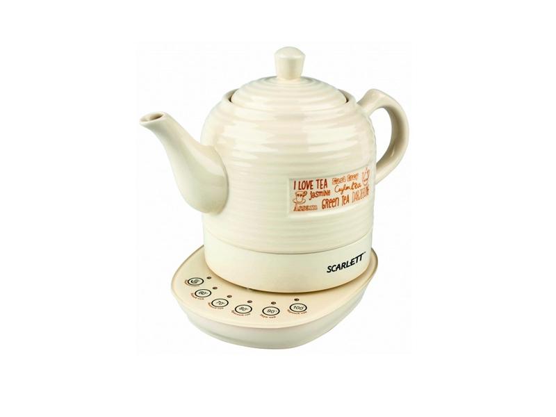 Чайник Scarlett SC-EK24C02 Бежевый