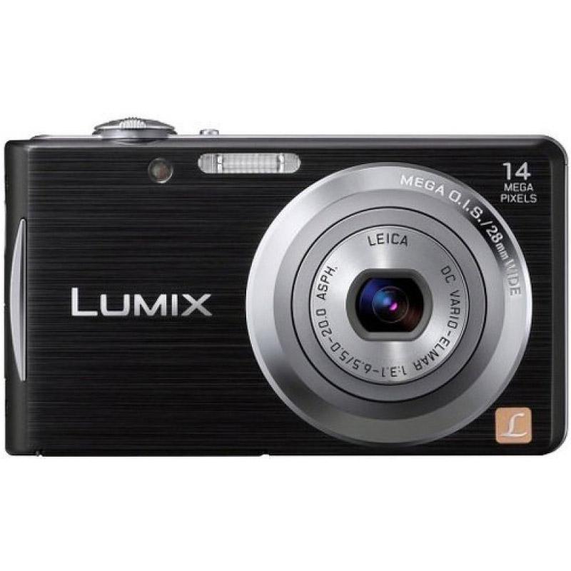 Цифровой фотоаппарат Panasonic Lumix DMC-FS16EE-K Black