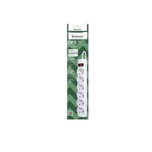 Сетевой фильтр Defender DFS-151 White