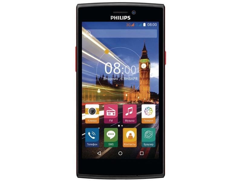 Смартфон Philips S337 Black