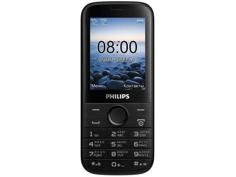 Мобильный телефон Philips E160 Xenium Black