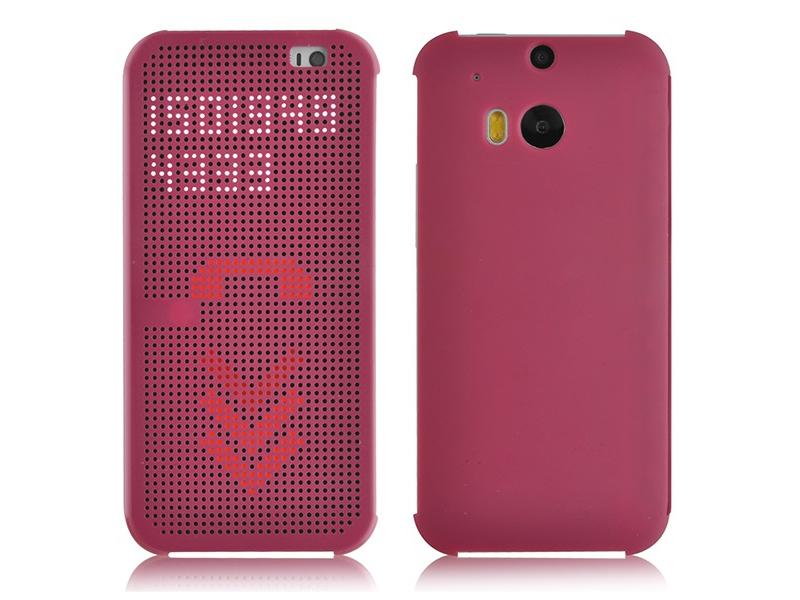 Чехол для мобильного телефона HTC Dot Flip HC M100 HTC ONE M8 Purple