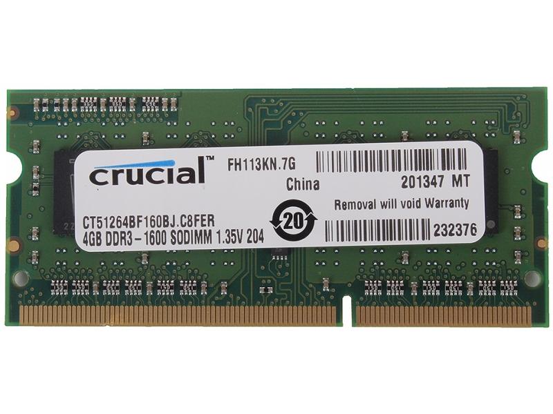 Оперативная память Crucal CT51264BF160BJ