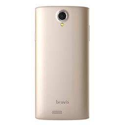 Смартфон Bravis Bright Gold