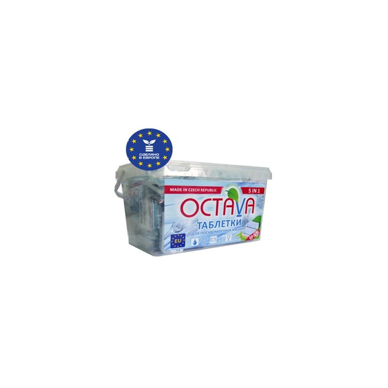 Моющие средство Octava таблетки для посудомоечной машины 5 в 1