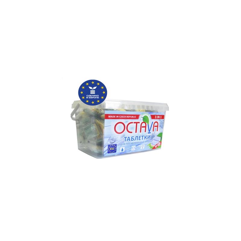 Моющие средство Octava таблетки для посудомоечной машины 3 в 1