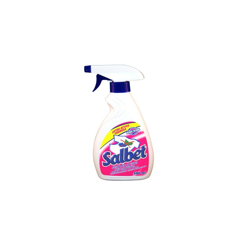 Чистящие средство Salbet пятновыводитель активная пена