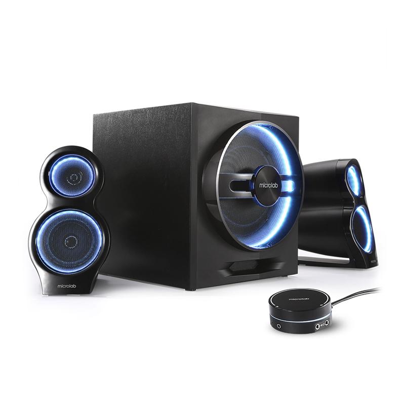 Звуковые колонки Microlab Т-10 2.1 Black