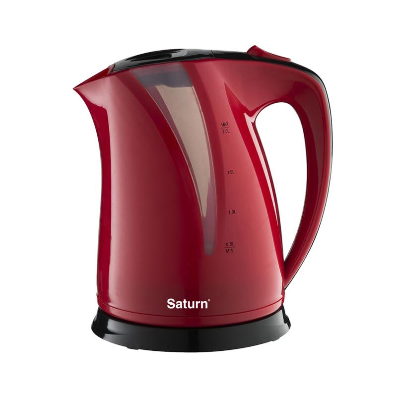 Чайник Saturn ST-EK8417 Красно-Черный