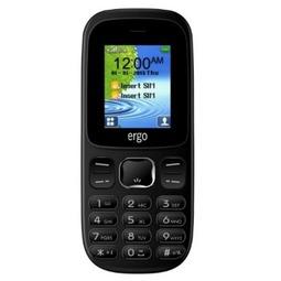 Мобильный телефон Ergo F180 Start Black