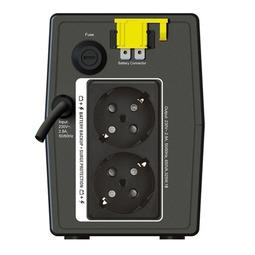 Источник бесперебойного питания Apc UPS- BX650LI BACK RS + Сетевой фильтр Apc P43B-RS