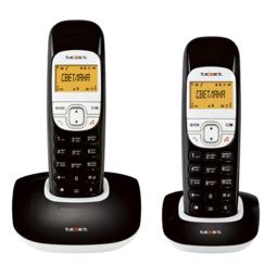 Радиотелефон Texet TX-D6505А Duo Black