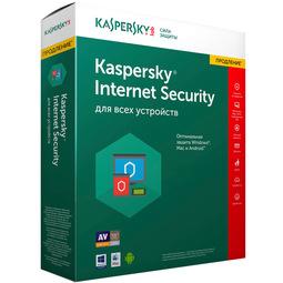 Антивирус Kaspersky Internet Security 2017 2Dt Renewal (продление подписки на 1 год)