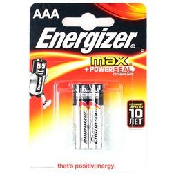Элемент питания Energizer Max LR03 2шт