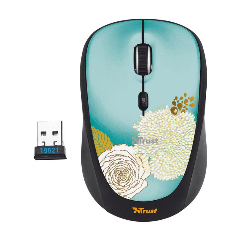 Мышь Trust Yvi Mouse Flower