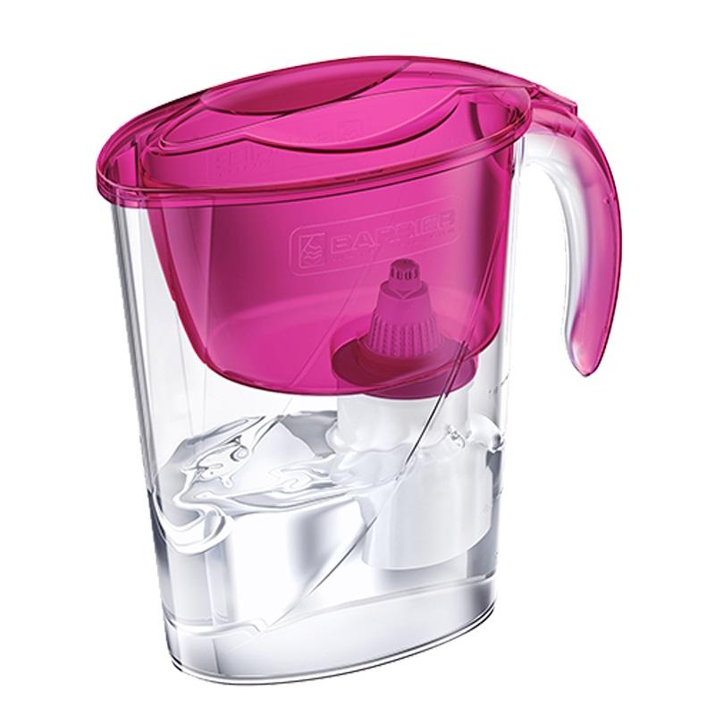 Фильтр для очистки воды Барьер-Эко Пурпурный