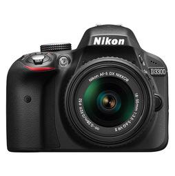 Зеркальный фотоаппарат Nikon D3300 + 18-55 Black