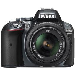 Зеркальный фотоаппарат Nikon D5300 + 18-55 VR Black