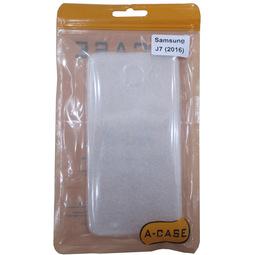 Чехол для смартфона A-Case 10000003186 Для Samsung Galaxy J7 2016 Светлый