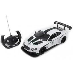 Радиоуправляемая игрушка Rastar Bentley Continental GT3 70600W White