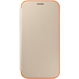 Чехол для смартфона Samsung Neon Flip Cover EF-FA720PFEGRU Gold для Samsung Galaxy A7 2017
