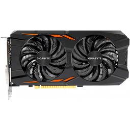 Видеокарта Gigabyte GeForce GTX 1050 GV-N1050WF2OC-2GD