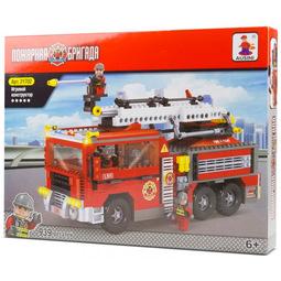 Конструктор Ausini Пожарная бригада 21702