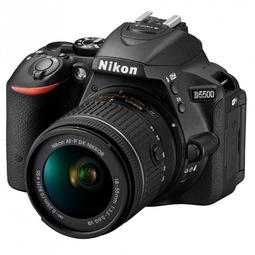 Зеркальный фотоаппарат Nikon D5500 + 18-55 VR AF-P Black