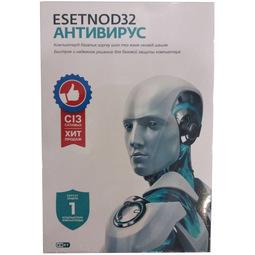 Антивирус Eset Nod32 (Лицензия на 1 год на 1ПК)