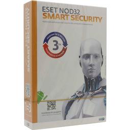 Антивирус Eset Nod32 Smart Security (Подписка на 1 год НА 3пк, или продление на 20 месяцев)