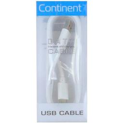 Кабель для смартфона Continent DCC-1000 White