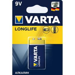 Элемент питания Varta Longlife E-Block 9V - 6LR61