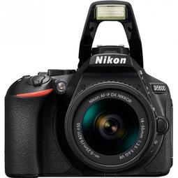 Зеркальный фотоаппарат Nikon D5600 + 18-55 VR AF-P Black