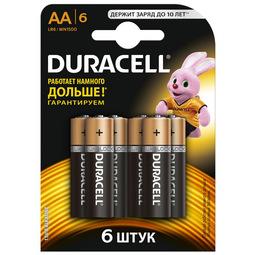 Элемент питания Duracell Basic AAx6