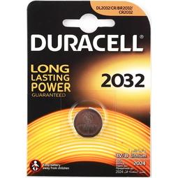 Элемент питания Duracell CR2032 3V 1 шт