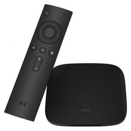 Медиаплеер Телевизионная приставка Xiaomi Mi Box Black